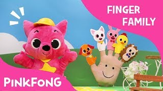 Pet Finger Family | Finger Puppets | Pinkfong Plush | Pinkfong Songs for Children