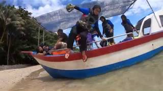 Dari Puncak Gunong Jerai Pantai Merdeka Tanjung Dawai ke Pulau Bidan