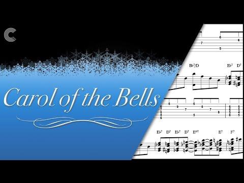 Guitar - Carol of the Bells - Christmas Carol - Sheet Music, Chords, & Vocals