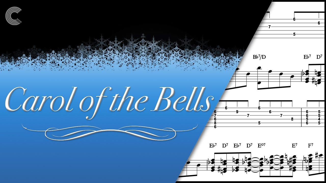 Guitar   Carol of the Bells   Christmas Carol   Sheet Music, Chords, &  Vocals