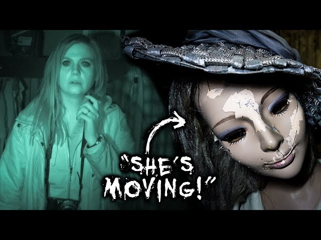 CREEPY PARANORMAL Investigation in SCARY Mannequin Room | Old Tailem Town, South Australia