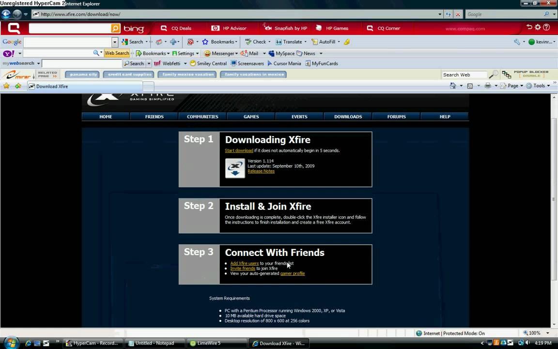 Download xfire v1. 155 (freeware) afterdawn: software downloads.