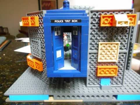 lego tardis interior 2 youtube