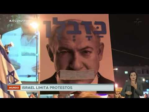 Primeiro-ministro De Israel é Alvo De Protestos Por Suposta Corrupção E Crise Com A Covid-19