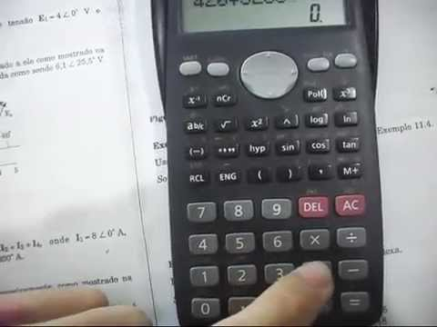 Complex Numbers In Casio Fx 82ms Part 1 Youtube