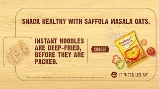Saffola Masala oats tasty way to stay fit 20sec