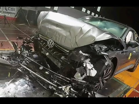 Volkswagen ameo car and arteon car crash test 2018