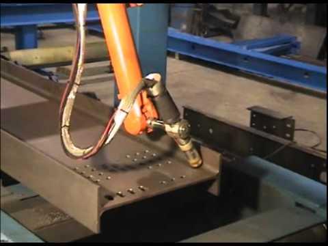 Ocean Liberator CNC Beam Coping Machine - how to cope s ...