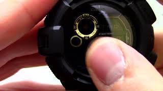 Годинник Casio G-SHOCK G-9300GB-1D - Інструкція, як налаштувати від PresidentWatches.Ru