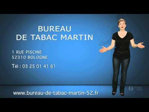 BUREAU DE TABAC MARTIN : Tabac-Presse à Bologne (52)