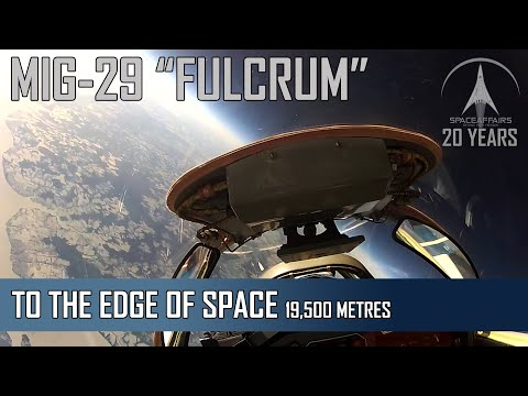 MIG-29 Flight To The Edge Of Space - From The Pilots Seat