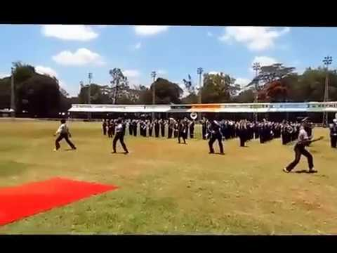 Kenya Police Service Band Nairobi Show Display of 2017