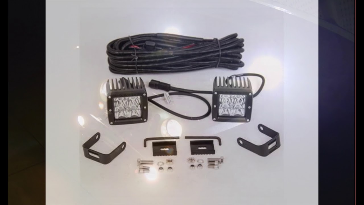 Procomp Led Cube Install Wrangler Youtube Pro Comp Light Wiring Diagram