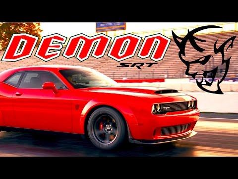2018 Dodge Demon: NEWS ALERT (LEAKED Horsepower & Promo Photo)