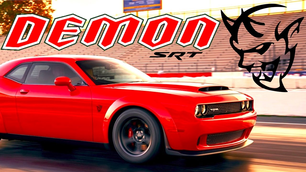 2018 Dodge Demon News Alert Leaked Horse Promo Photo