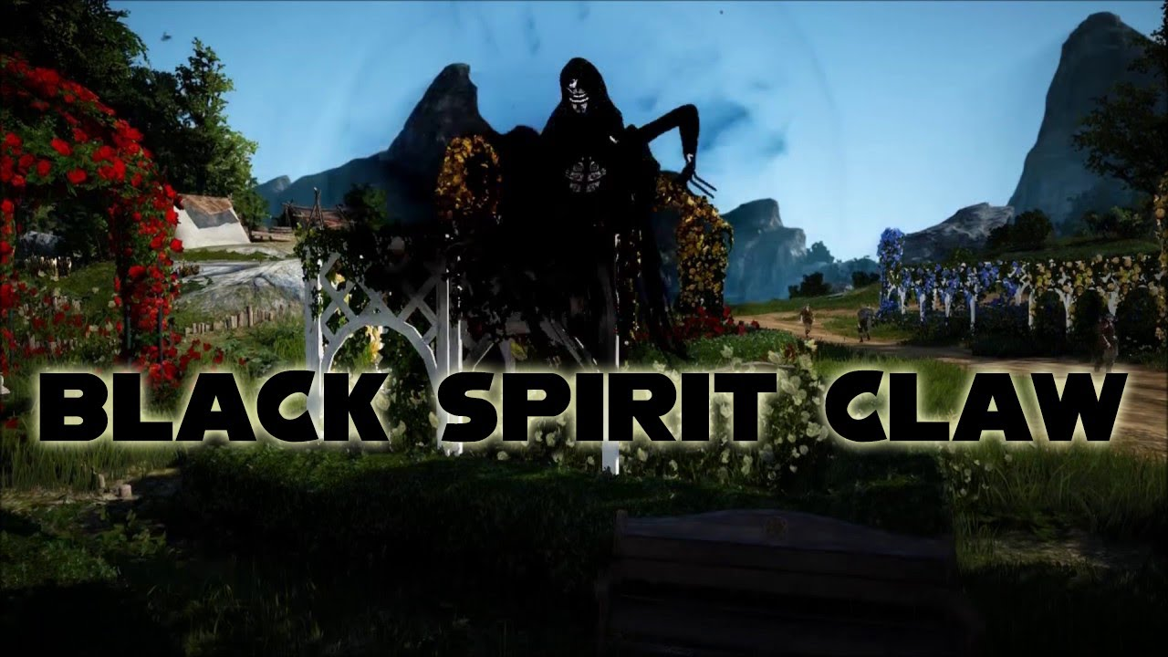 Black Spirit Claw and How To use it in BDO | Black Desert Online