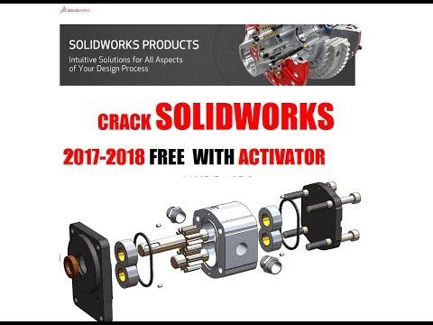 How To Crack SolidWorks  2017-2018. (Dessault SolidWork CAD-CAM-CAE Software).