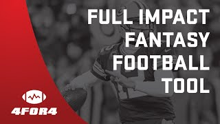 How to use the 4for4 Fantasy Football Draft Simulator