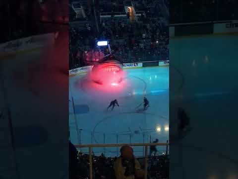 Colorado Avalanche vs San Jose Sharks 4/5/2018 SAP Center