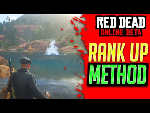 EASY RANK UP METHOD In Red Dead Redemption 2 Online - Red Dead Online (Rank Up RDR2 Online) thumbnail