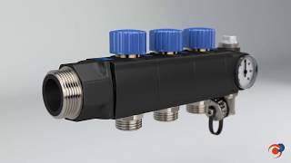 Colectores modulares para suelo radiante Eurotherm SL ¿Cómo funcionan?