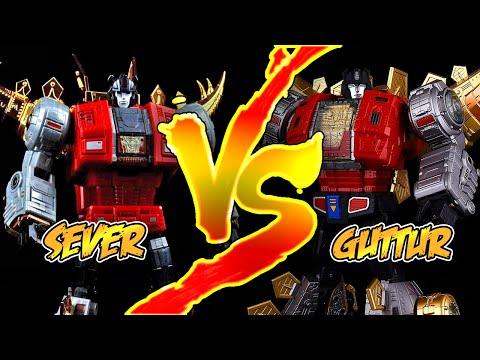 Fanstoys Sever VS Gigapower Guttur Showdown!