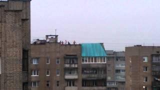 Злива в Луцьку