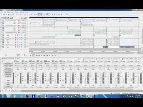 Sony Acid Music Studio 8 Tutorial Assignable Effects www.robtransini.com