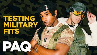 HARDCORE Military Outfit challenge | PAQ Ep #30 | A Show About Streetwear