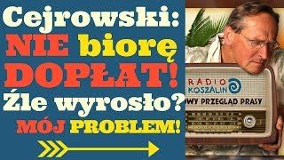 Cejrowski o rolnictwie: NIE BIORĘ DOPŁAT! 2018/08/18 Radio Koszalin