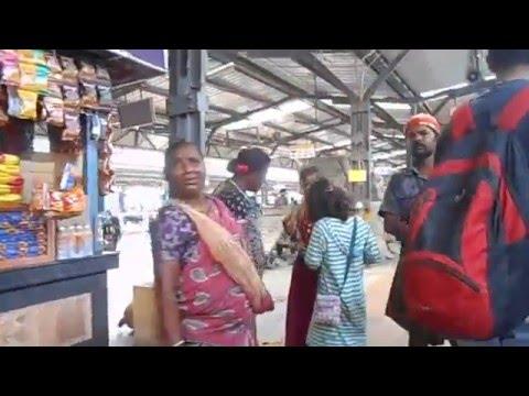 INDIA Train trip, Chennai to Chilara.