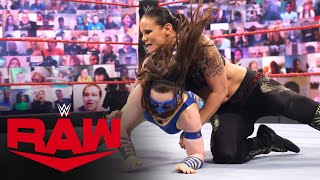 Nikki Cross vs. Shayna Baszler: Raw, June 28, 2021