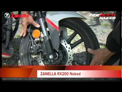 Zanella Rx Al Corte - YouTube