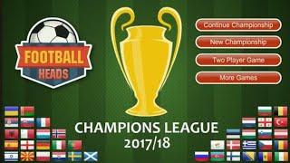 Football Heads Champions League 2017/18 con el Leipzig FC