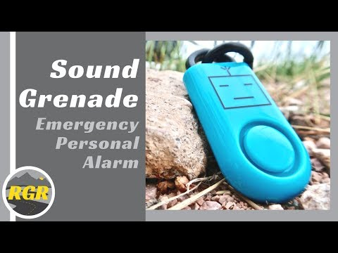 Sound Grenade by BASU | Product Review | Emergency Personal Alarm