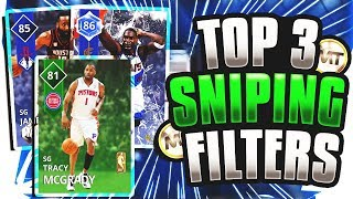 NBA 2K18 BEST SNIPING FILTERS! TOP 3 SNIPING FILTERS IN NBA 2K18! BEST WAY TO MAKE MT!