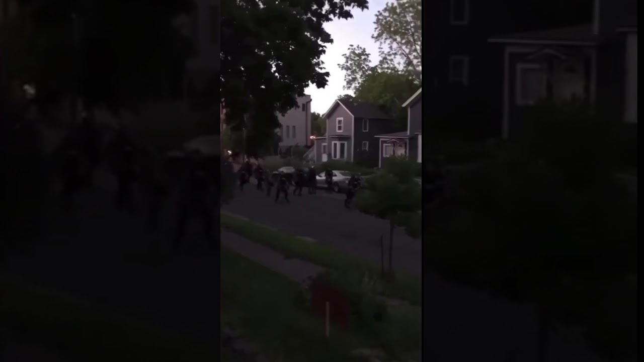 Martial Law In Minneapolis: Residents On Their Porch Get Hit With Rubber Bullets And Forced Inside