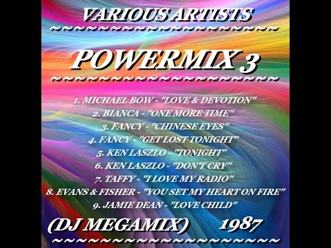 VARIOUS ARTISTS ''POWERMIX 3'' (DJ MEGAMIX)(1987)