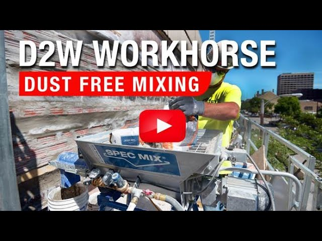SPEC MIX D2W Workhorse Dustless Mixing System
