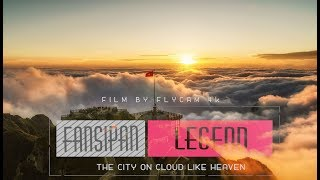 Fansipan Legend | The City On Cloud Like Heaven | Beautiful VietNam | Flycam 4K