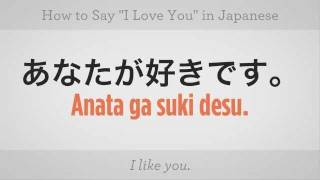 "How to Say ""I Love You"" 