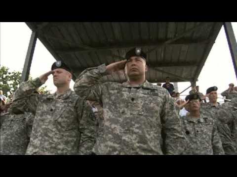 US Army Basic Training: Graduation - 미군훈련 졸업식