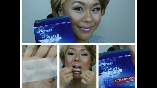 How to use Crest 3D WHITE WHITESTRIPS ADVANCED VIVID 自宅で出来る簡単 歯のホワイトニングの仕方(Hello, everyone!!!! I love this Crest 3D white whitestrips. Trast me, They work!! こんにちは。 今回は歯のホワイトニングのビデオです;))) 簡単だし、調べたら..., 2014-02-19T01:56:04.000Z)