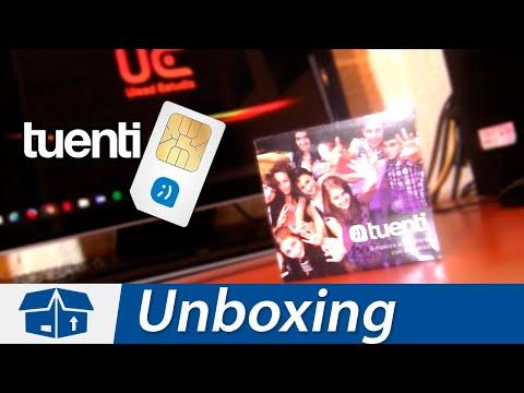 SIM Tuenti – México | Unboxing