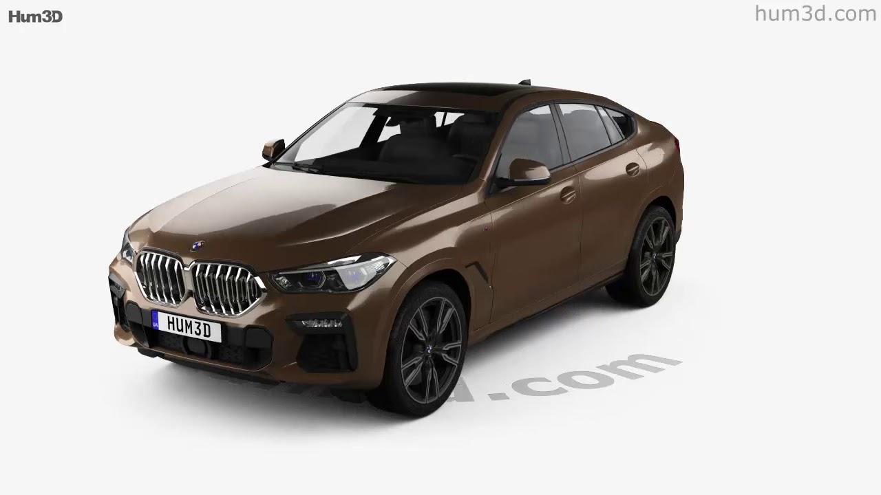Bmw X6 M Sport 2020 3d Model