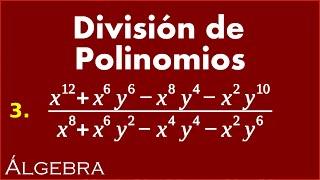 Division de polinomios 3   Ejercicios de Algebra