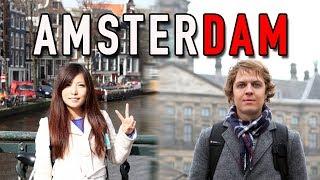 Один день в Амстердаме. Кофешоп, велосипедный тур и безбилетники