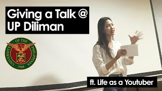 Giving a Talk at the University of the Philippines Diliman!