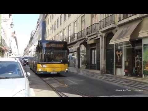 Buses in Lisbon, Portugal