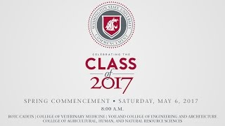 WSU Commencement • Spring 2017 • 8:00am Ceremony thumbnail